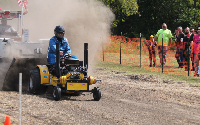 PD declared victor in tractor event