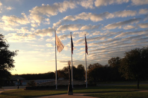 Recently, the city installed three new flagpoles at the corner of Farmersville Parkway and Hwy 78. This project was sponsored by the Farmersville Community Development Corporation.