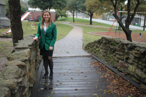 State 4H Council member and Farmersville student Brianna Becker recently received her green jacket and state ring.