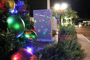 The Farmersville town Christmas tree is now proudly on display downtown along with white lightings atop the buildings, gazebo and many adjoining structures. The Christmas decor in part was paid for by Farmersville Community Development Corporation (4B).