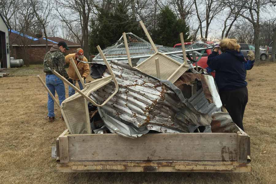 Storm cleanup, community efforts continue
