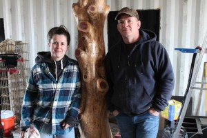 Shannon and Terra Mather are working on building their dream home, inside of shipping containers.