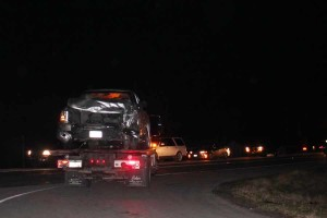 A Chevy truck was involved in a wreck that killed two Jan. 9.