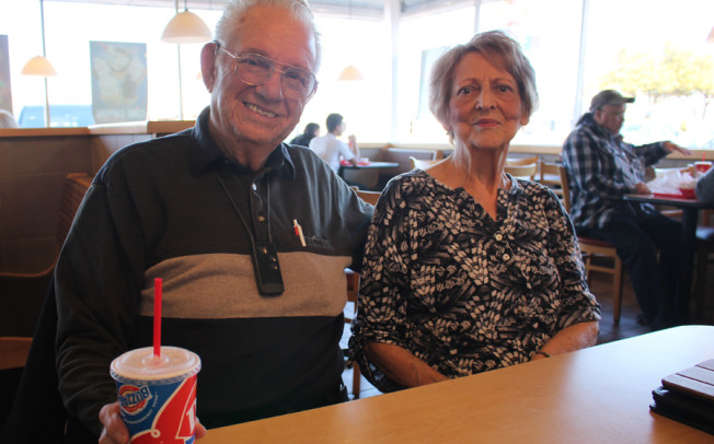 A basket full of love: Couple shares sweet love story over DQ memories