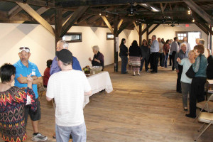 More than 80 people attending the Farmersville Heritage Museum open house Sunday, Feb. 21. The open house showcased the finished interior of the museum before exhibits were selected.