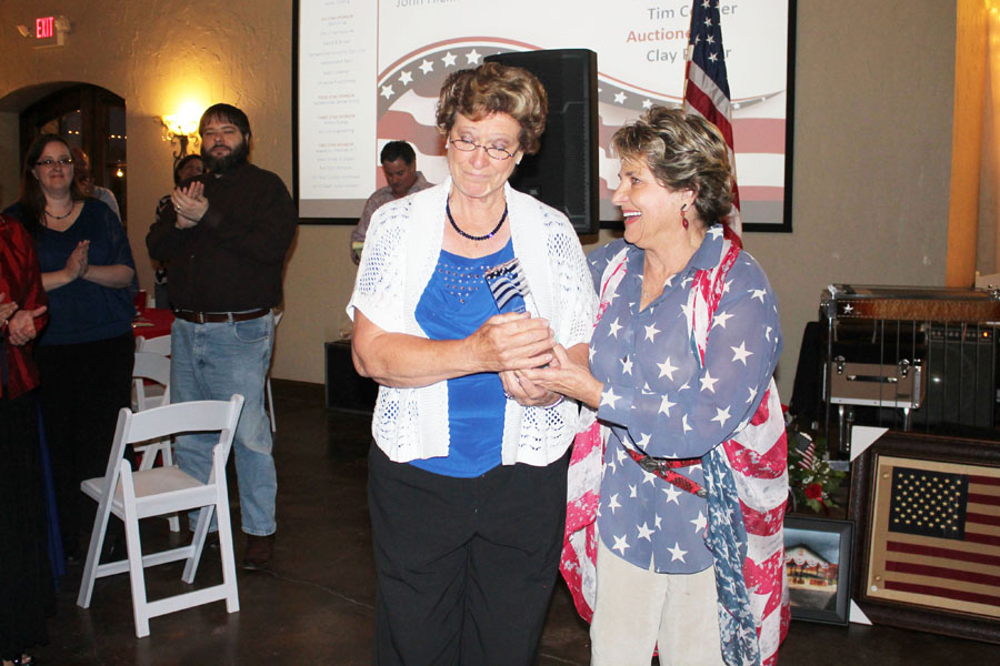 Patriotic splendor: Chamber raises more than $30,000 with banquet