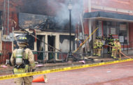 Multiple fire departments respond to downtown fire