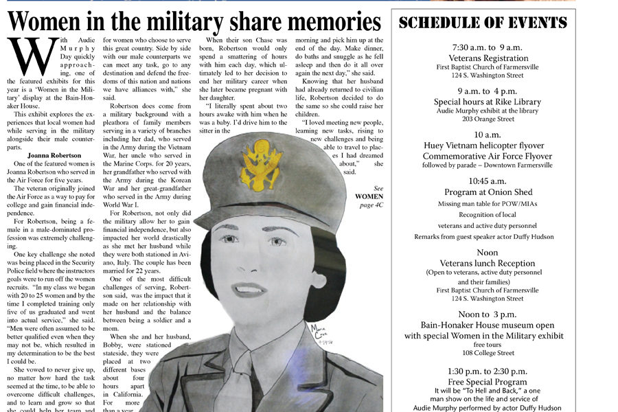 Special Audie Murphy Day section in this week's edition!