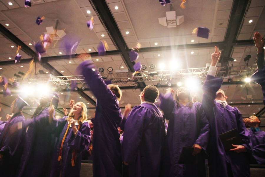 Class of 2016 walks stage