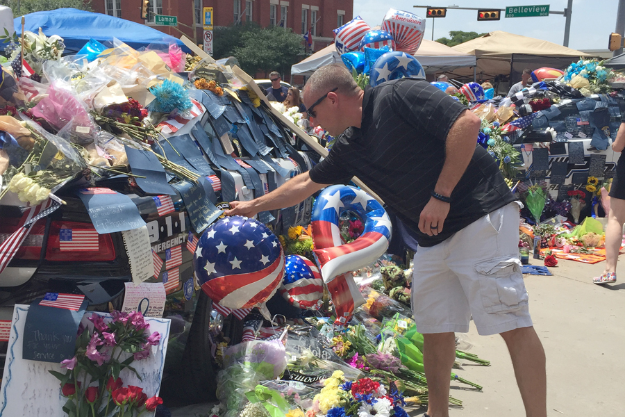 Community mourns the fallen