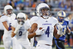 Farmersville's Caleb Twyford (4) will play a key role in the upcoming 2016 season for their team.