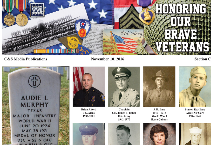Never forgotten: Times honors Veterans, active duty with section