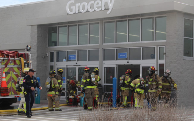 Arson suspect arrested after Walmart fire
