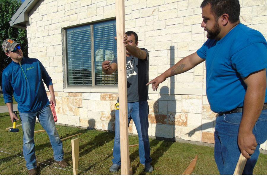 Teamwork brings The Moving Wall