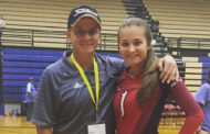 Davis competes in volleyball all-star game