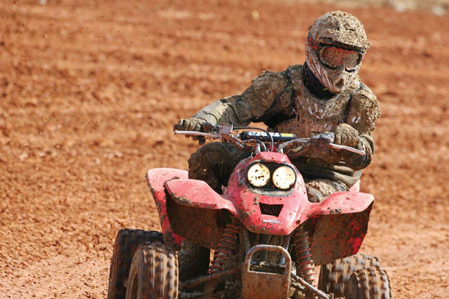 Blazing new off-road thrills with ATV's