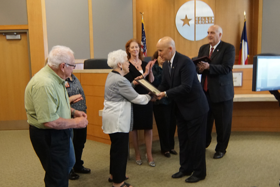 Historian receives honor from county