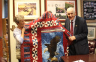Quilt of Valor presented