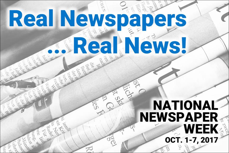 National Newspaper Week October 1-7, 2017