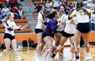 Farmersville volleyball wins bi-district contest