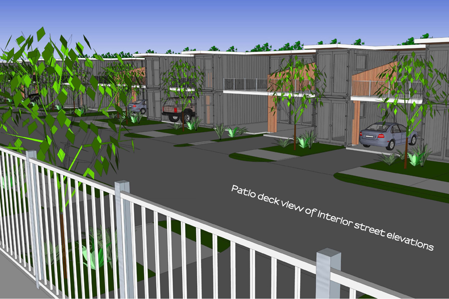 Container homes bring affordable housing