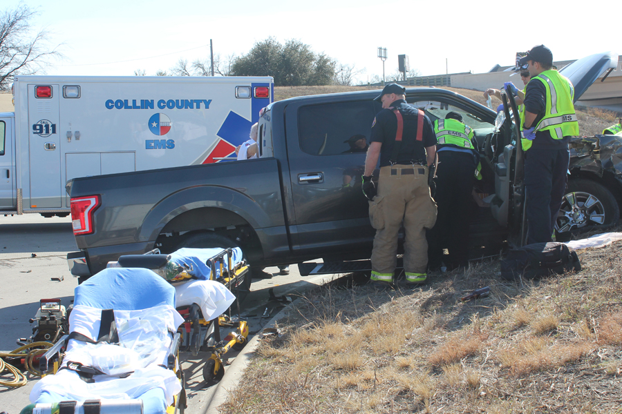 Wreck injures multiple victims