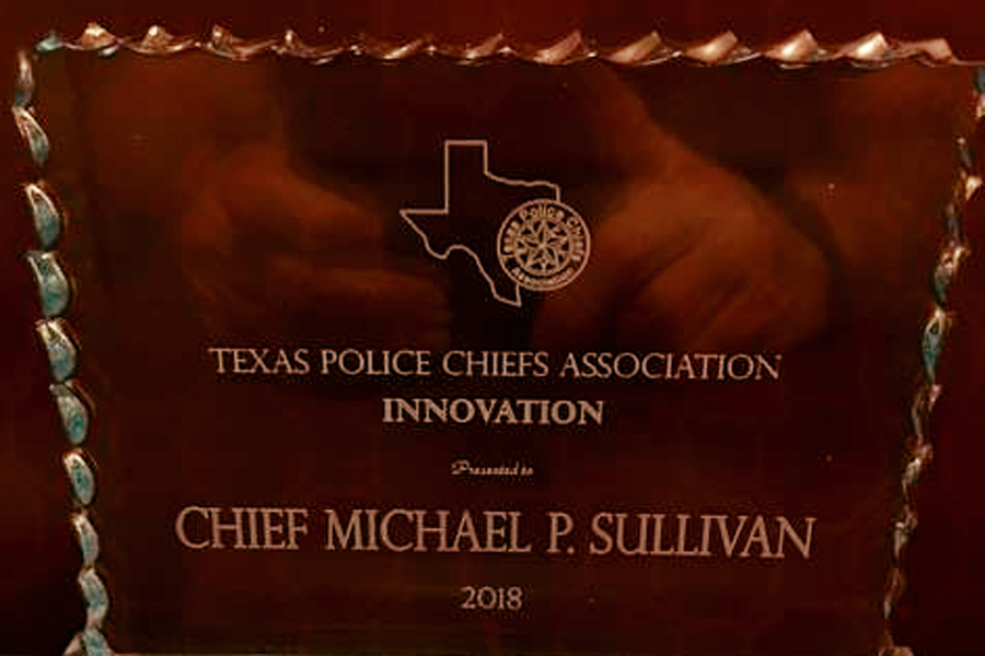 FPD receives state award for innovation