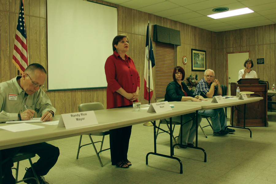 Candidates talk local issues
