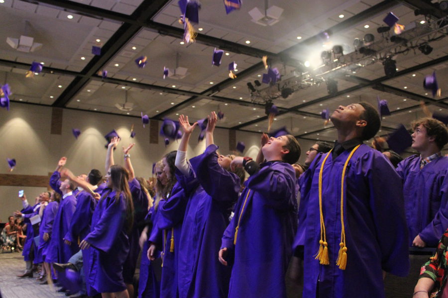Class of 2018 walks stage