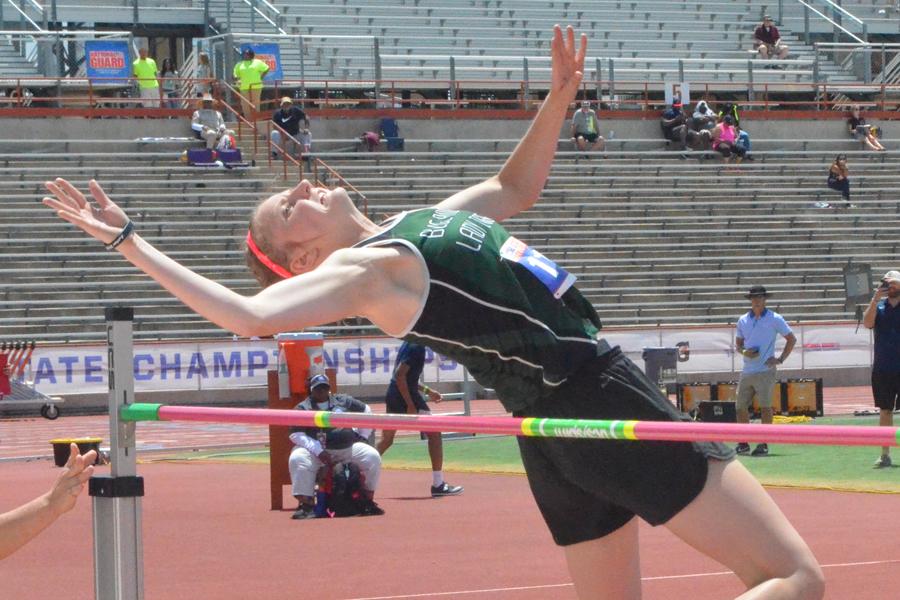 Getting it done: Gerner captures bronze in high jump at Austin
