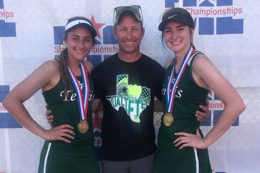 Girls of bronze: Doubles team claims third in 2A state tournament