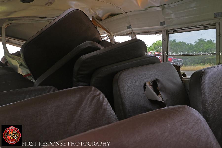 School bus wreck halts traffic on Hwy. 380