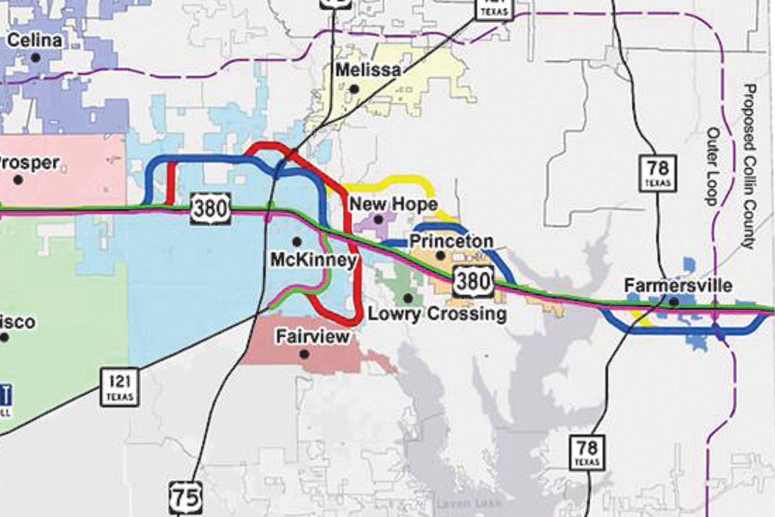 Hwy. 380 alignment topic of discussion