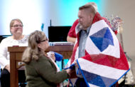 Quilts of Valor presented to veterans