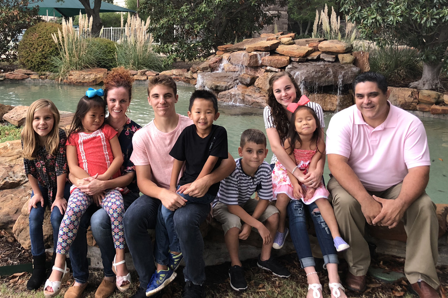 A leap of faith: Adoption fulfills couple's dream