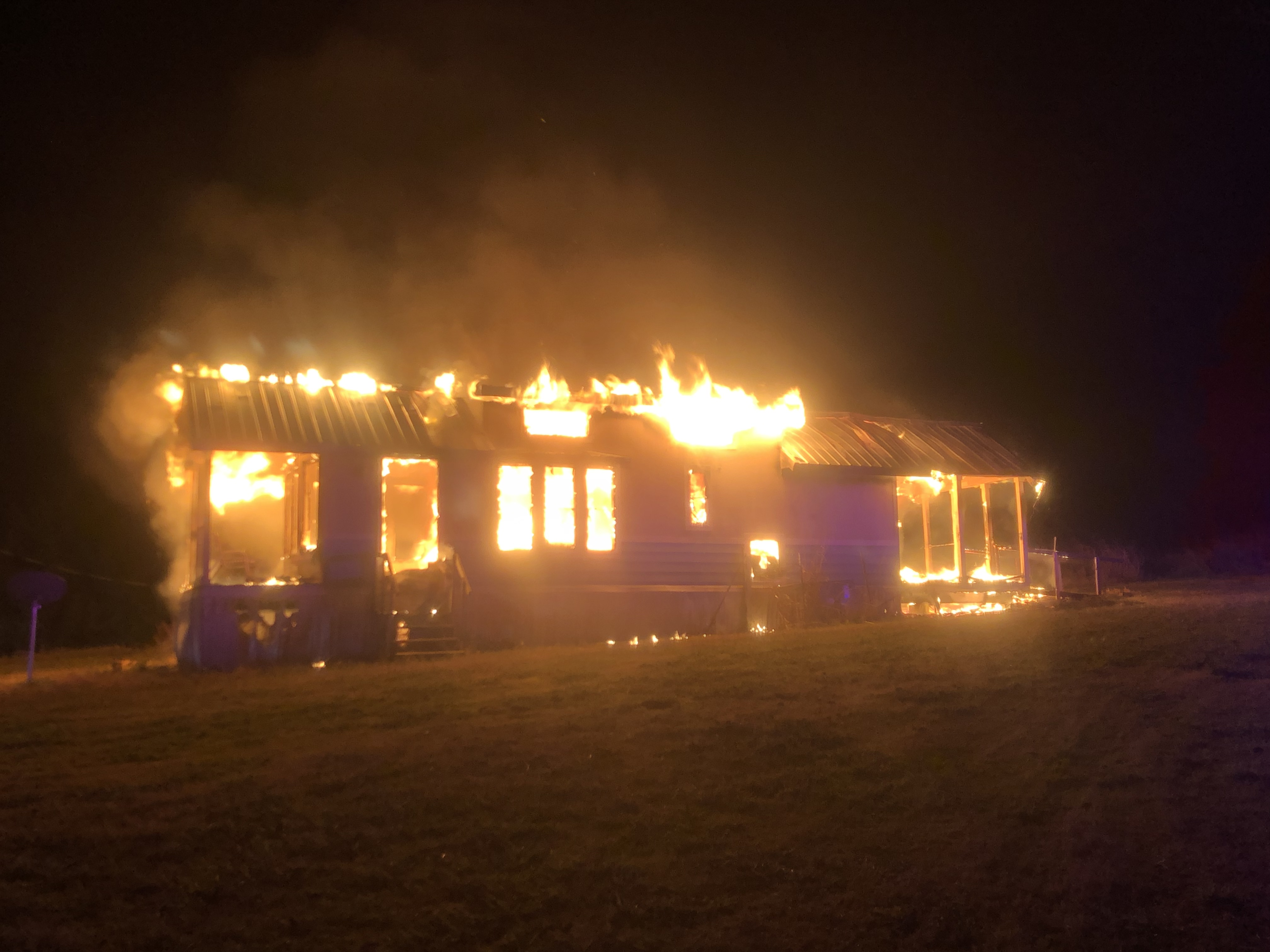Multiple departments respond to house fire