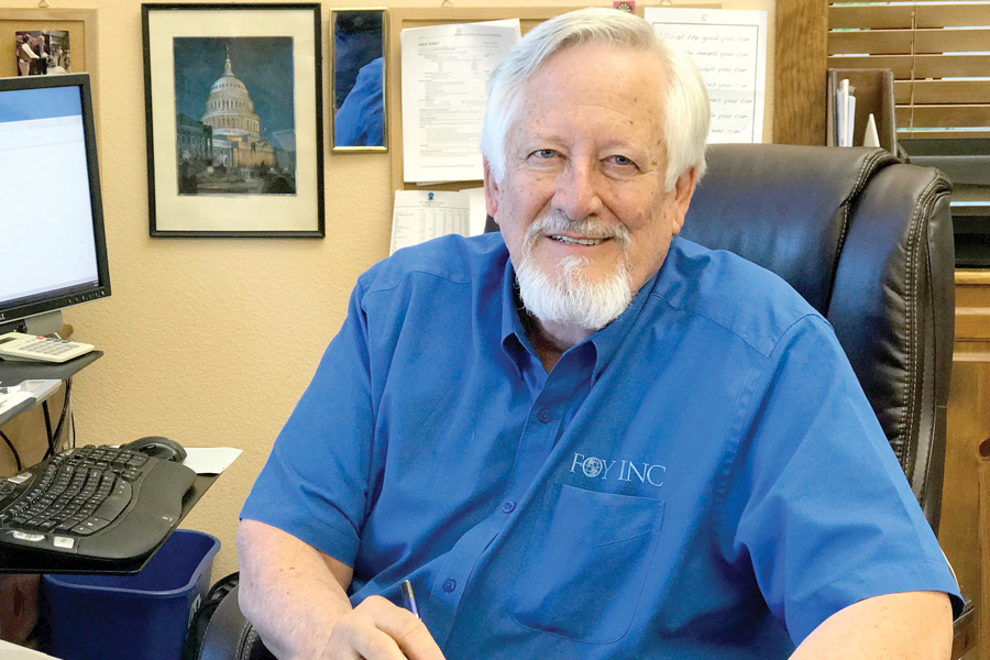 Foy takes lead as chamber president