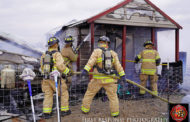 Fire destroys home, possessions