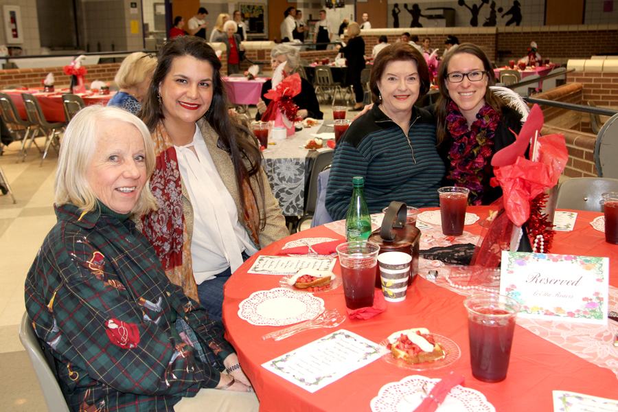 Historic times: Annual style show, luncheon garners profits