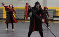 Video: Winter Guard, Drumline wows crowd