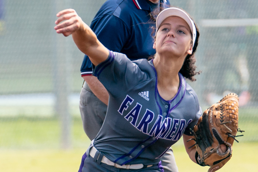 Plowing up success: Lady Farmers win district, playoff titles