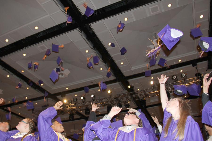 Pomp and Circumstance: 120-member class graduates FHS