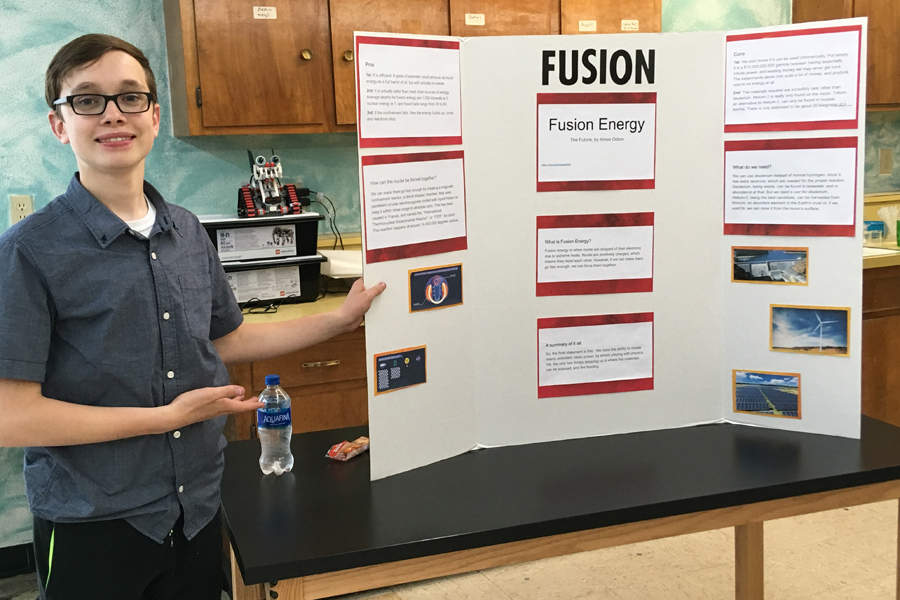 FJHS science fair 2019