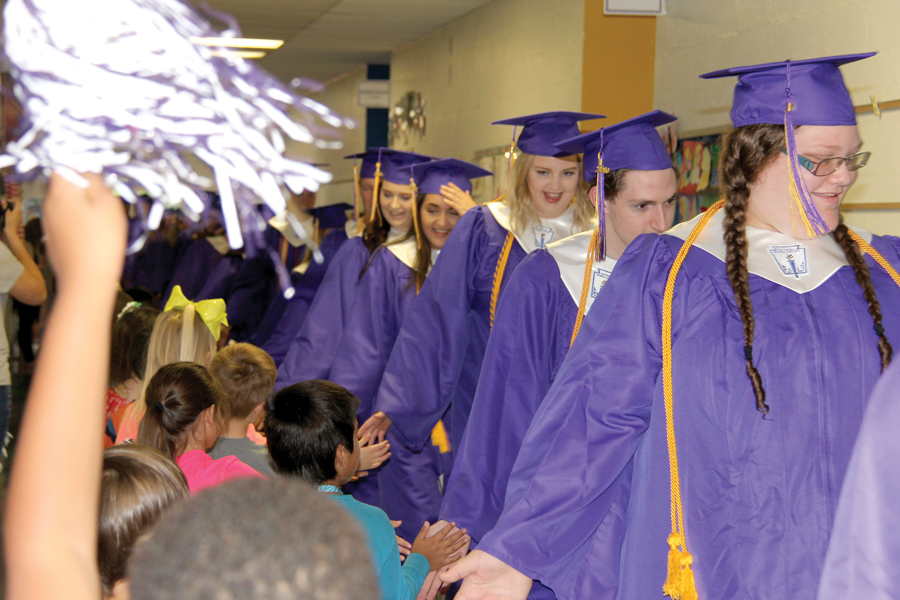 Seniors receive $575,611 in scholarships for college