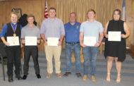 Masons present scholarship funds
