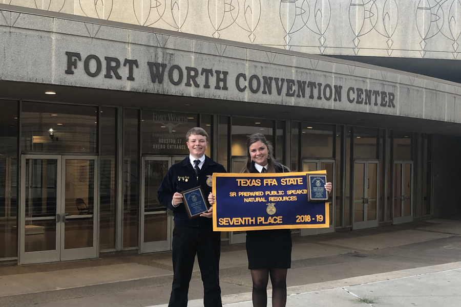 FFA students go to state speaking contest