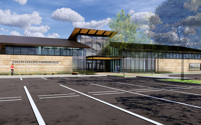 Designs presented for Farmersville campus