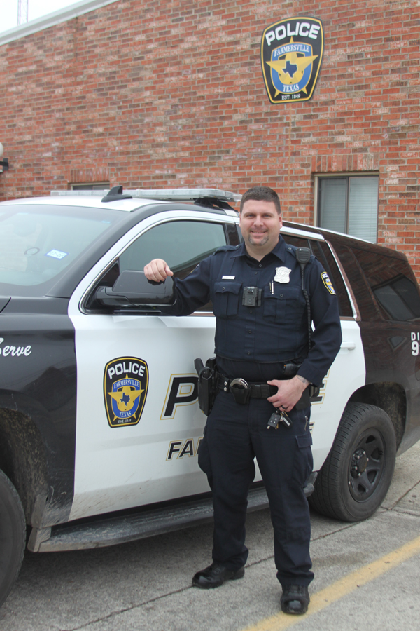 Wallace named Police Officer of the Year