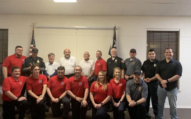 First Fire and EMS Academy class graduates