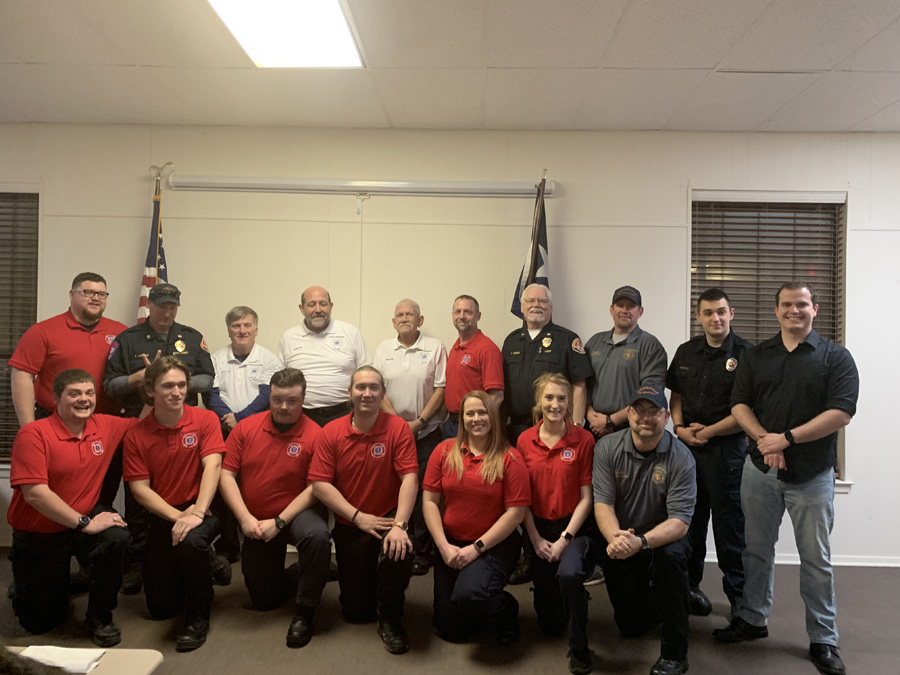 First Fire and EMS Academy class graduates